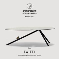 archiproducts@designaward@winner2017@twitty@daaòangelettiruzzadesign@designtable