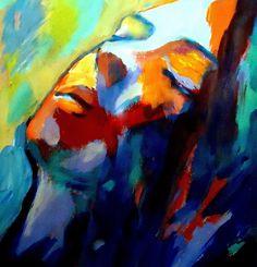 "Saatchi Online Artist Helena Wierzbicki; Painting, """"Silent song"""" #art"