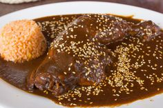 Mole is a great kid-friendly dish! Our daughter has been eating this particular recipe since she was 2 and she loves it! Guaranteed, your kids will love it!
