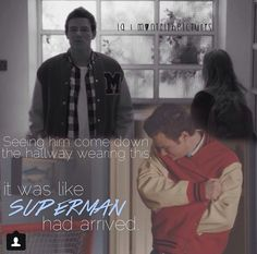 """""""It was like superman had arrived.""""superman really had arrived in my opinion"""