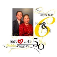 Front of Anniversary Invite Designed by @latoyalo @Tonya Lopez