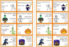 Gorgeous, funny and very cute, our lunch box notes and lunch box jokes are a joy for children to find tucked in around the food and fruit in their lunch box! Lots for the holidays - Christmas, Halloween, Easter and more. Lunch Box Notes, School Lunch Box, School Lunches, Kid Lunches, School Days, School Stuff, Halloween Jokes, Halloween Party, Halloween Printable