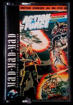 Juego Amstrad CPC Cinta - Action Force / G.I. Joe (1988)