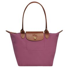 51f669f0f8 Longchamp Le Pliage Medium Shoulder Tote ($125) ❤ liked on Polyvore  featuring bags,