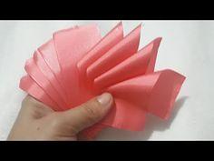 Diy Ribbon Flowers, Ribbon Flower Tutorial, Cloth Flowers, Ribbon Crafts, Fabric Flowers, Rose Crafts, Flower Crafts, Baby Hair Bands, Shabby Chic Flowers