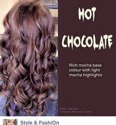 Hot chocolate hair