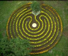 "The ""Sun Wheel"" #Labyrinth at Inssbruck"