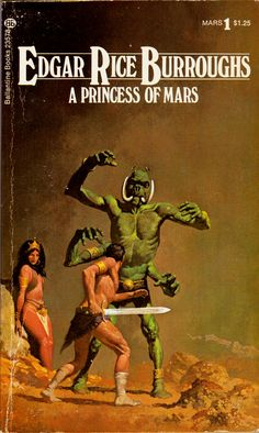 A Princess of Mars cover by Gino D'Achille