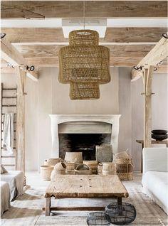 Ibiza Style Interior, Style Ibiza, Interior Design, Living Room Inspiration, Interior Inspiration, Interior Natural, Balkon Design, Ibiza Fashion, Home Living Room