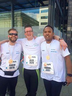 In het weekend van zaterdag 9 en zondag 10 april vond de 36e editie van de Marathon Rotterdam plaats. Zowel de absolute wereldtop als duizenden lopers uit binnen- en buitenland ervaren hoe het is om te finishen op de beroemde Coolsingel. Team SaniTronics-VHR NN Marathon Rotterdam: SaniTronics i.c.m. VHR (Van Houwelingen Rotterdam) villabouwers renden ook mee. Wat een prestatie! | SaniTronics Openbare Toiletten en Zelfreinigende Toiletsystemen | Blogpost NN Marathon Rotterdam editie 2016
