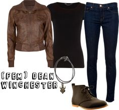 """""""Dean Winchester (Fem)"""" by izzielikesadreamer on Polyvore"""