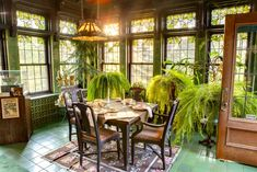 The gorgeous Breakfast room of Glensheen mansion, which you can see on our standard and expanded tours