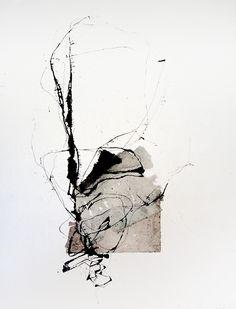 Techniques mixtes, 50 x 60 cm - 2012 Kitty Sabatier