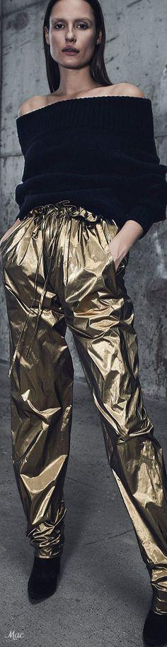 Pre-Fall 2018 Sally LaPointe me encantan los pantalones