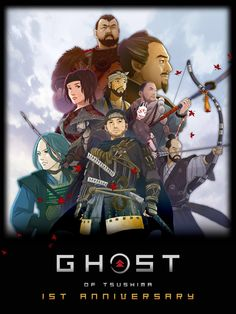 Ghost Of Tsushima, Samurai Art, Fantasy Art, Cool Art, Fan Art, Playstation, Twitter, Warriors, Conversation