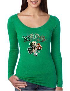 Women's Shirt Irish Pride Shamrock St Patrick's Day Shirt