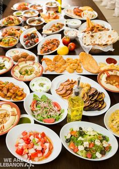 #Lebanese Mezze مازة #لبنانية By Chef Mohammad Farran