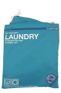 'Go Clean' Laundry Travel Bags
