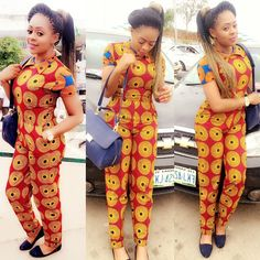 Creative Ankara Style for Ladies  http://www.dezangozone.com/2015/09/creative-ankara-style-for-ladies_25.html