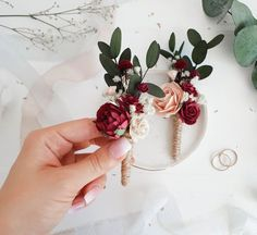 Wedding boutonniere, Burgundy boutonniere, Rustic boutonniere, Burgundy Button h. 2020 - hashtags} - im Winter wedding decorations rustic Burgundy Wedding, Floral Wedding, Fall Wedding, Wedding Colors, Our Wedding, Dream Wedding, Wedding Stage, Indoor Wedding, Wedding Advice