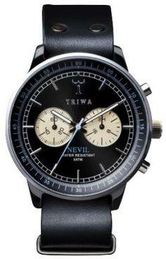 Triwa Raven Nevil Black NEAC101-B