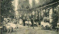 1910. Budagyöngye Vendéglő, Szilágyi Erzsébet fasor. Austro Hungarian, Budapest Hungary, Time Travel, Old Photos, The Past, Landscape, History, City, Beautiful