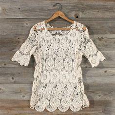 lace blouse - spool72.com
