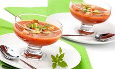 Recetas de sopas y cremas frías para el verano
