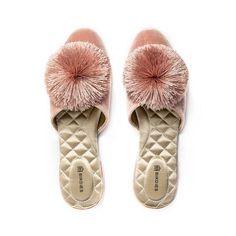 Women Slides, Big Fat Indian Wedding, Fancy Houses, Pink Velvet, Shoe Brands, Womens Flats, Women's Shoes, Fall Shoes, Pretty In Pink