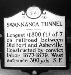 Black Mountain Heritage Mural: Swannanoa Tunnel