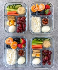 Stop wasting time in line or your money on snack boxes and make these Easy Protein Bistro Snack Boxes at home! Great for meal prep or a post-workout snack! Lunch Meal Prep, Meal Prep Bowls, Healthy Meal Prep, Healthy Eating, Healthy Fats, Healthy Protein Snacks, Snack Bowls, Eating Raw, Keto Meal