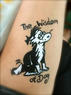 For the Kiwi's. Dog out of Footrot Flats