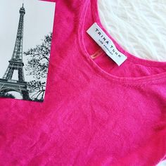 | Trina Turk | Pink Tank Pink tank perfect for spring with its loud color! Made of cotton & linen Trina Turk Tops Tank Tops