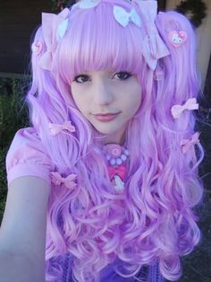 pretty purple wig from cosplayusa