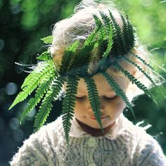 .Queen of the Forest...fern crown