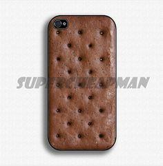 Icecream Sandwich  Apple iPhone 4 Case iPhone 4s by SuperCheapMan, $14.99
