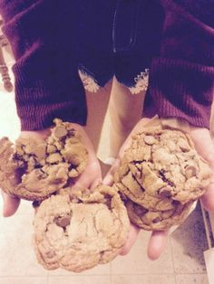 Just made cookies.