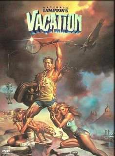 National Lampoon's Vacation Movie Poster 27 X 40 Chevy Chase, B, Licensed Classic 80s Movies, Vintage Movies, Great Movies, Awesome Movies, Chevy Chase, Christie Brinkley, Comedy Movies, Hindi Movies, Funny Comedy