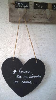 ardoise d corative tuile d coration de jardin panneau pancarte proverbes citations po mes. Black Bedroom Furniture Sets. Home Design Ideas