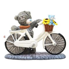 """""""Bicycle Made For Two"""" Me to You Bear Figurine (May Pre-Order) £30.00 http://www.metoyouonline.com/details.aspx?pid=15426&referrer=fb"""