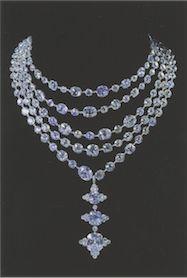 JAR Multistrand Necklace, 1999. Diamonds and Platinum