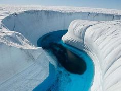 Ice canyon Iceland must travel