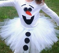 BABY GIRL OLAF COSTUME GIRLS SZ 9-12 mos long sleeve in Clothing, Shoes & Accessories | eBay