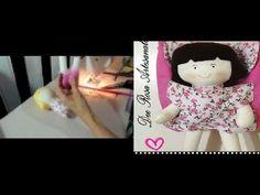 Eu Amo Artesanato: Boneca com molde