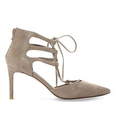 DUNE Charlize Suede Heeled Courts. #dune #shoes #heels
