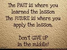 Don't give up!  From:To Thine Own Self Be True