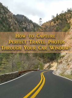"There's more than just ""Point and Shoot"" when it comes to taking perfect travel photos through the window of a moving car. Here's some of my favorite tips that I've learned over the years. (This photo was taken on Highway 89 in Arizona north of Sedona)"