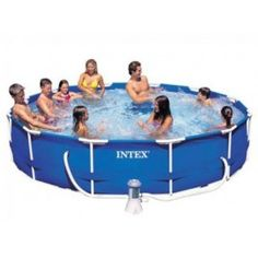 Buy #Intex #12 Feet Pool : Intex Inflatable  Swimming Pool, Find the selection of products from Intex with the lowest prices.#Intex pool #india are leading supplier and distributor of Portable Swimming #Pools,#Kids pool, inflatable pool online in India at Lowest Price and Cash on Delivery.