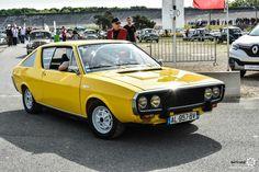 #Renault #R17 au Losange Passion International. #MoteuràSouvenirs Reportage : http://newsdanciennes.com/2016/05/22/losange-passion-international-losange-tres-grande-forme/ #ClassicCar #VintageCar