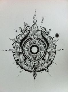#tattoo maybe include evil eye in the middle? looks like a compass, evil eye signifiying protection everywhere i go